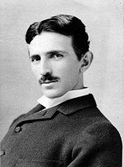 Nikola Tesla. Zdroj: http://cs.wikipedia.org/wiki/Wikimedia_Commons